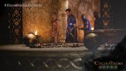 Muros shows to Danaya Hagorn's prison cell