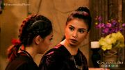 Pirena and Gurna discuss the failed assassination