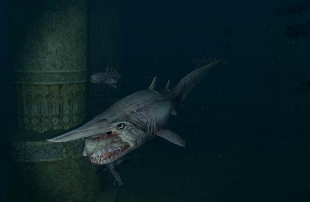 Goblin Shark   Endless Ocean Wiki   FANDOM powered by Wikia Oarfish Skull