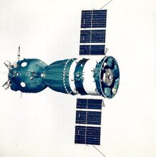Soyuz 19 (Apollo Soyuz Test Project) spacecraft