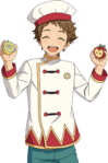 (Dwarf of Cooking) Mitsuru Tenma Full Render Bloomed