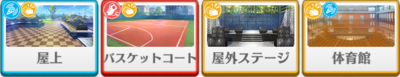 1-B lesson Shinobu Sengoku locations