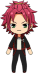 Mao Isara Setsubun Training Wear chibi