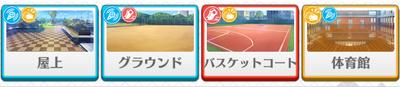 1-A lesson Hajime Shino locations
