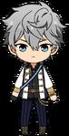 Izumi Sena knights uniform chibi