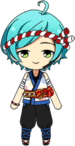 Kanata Shinkai Shooting Star Festival chibi
