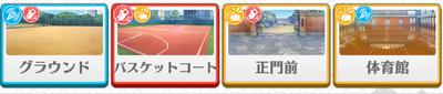 Fine lesson Wataru Hibiki locations