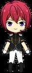 Tsukasa Suou Duel uniform chibi