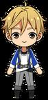 Tomoya Mashiro academy idol uniform chibi