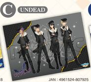 UNDEAD clear poster