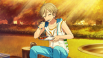 (Training of Summer) Tomoya Mashiro CG2