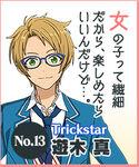 Makoto Yuuki Idol Audition 2 Button