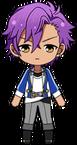 Adonis Otogari academy idol uniform chibi