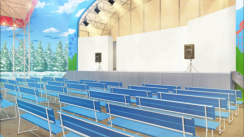 Amusement Park Stage Full