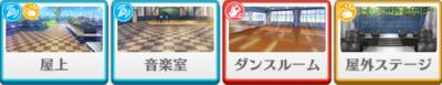 3-B lesson Wataru Hibiki locations