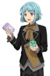 (Lamp's Gravekeeper) Hajime Shino Full Render
