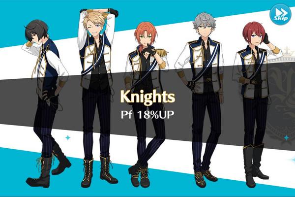 Knights 18% Up