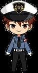 Chiaki Morisawa Police Uniform chibi