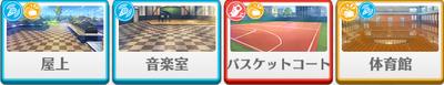1-B lesson Mitsuru Tenma locations