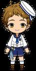 Mitsuru Tenma Rabbits uniform chibi