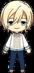 Eichi Tenshouin Casual (Junior Coordination) chibi