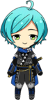 Kanata Shinkai Scroll of the Elements chibi