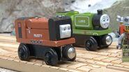 Luke and Rusty the Little Diesel