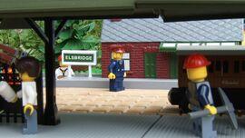 Elsbridge Station Stationmaster