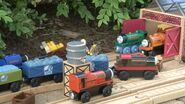 The Engines at the Skarloey Railway Depot