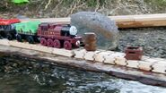 Pier rail crash Arthur