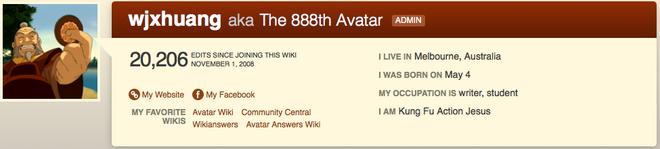 888th Avatar