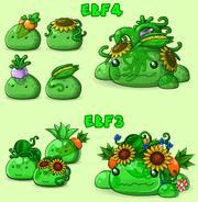 Green Veggie Slimes