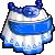 EBF4 Arm Blue Dress