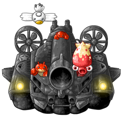 BH2 ironclad hovercraft