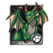 Green Dragonwhelp Card