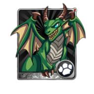 Green Dragonwhelp Card