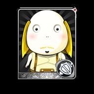 The Bald Man (C) Card