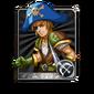 Male Pirate Card