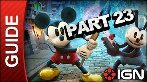 Disney's Epic Mickey 2 The Power of Two Walkthrough Part 23 - The Doctor is Out