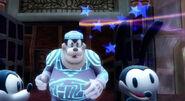 Oswald dizzy!