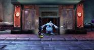 Petronic slamming the door into Oswald