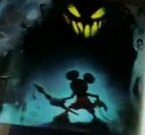 Mickey and blot concept art