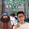 Hank Hill vs Duck Dynasty - Cover Art