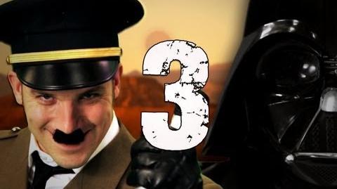 Hitler vs Vader 3. Epic Rap Battles of History Season 3