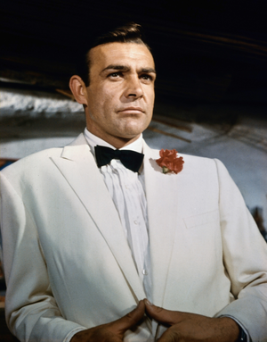 James Bond Sean Connery Based On
