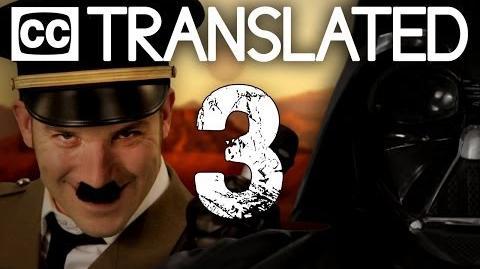 TRANSLATED Vader vs Hitler 3. Epic Rap Battles of History