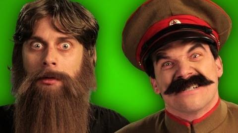 Epic Rap Battles of History - Behind the Scenes - Rasputin vs Stalin
