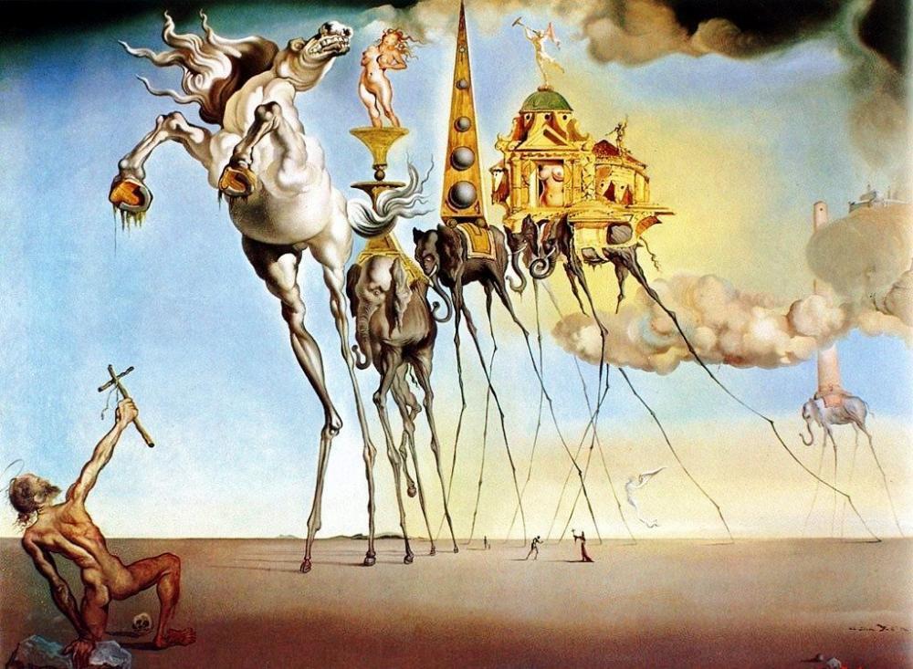 Image - Dali Artwork.jpg   Epic Rap Battles of History Wiki ...