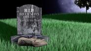 Cemetery Billy Mays vs Ben Franklin