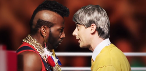 Sports Ring Mr. T vs Mr. Rogers